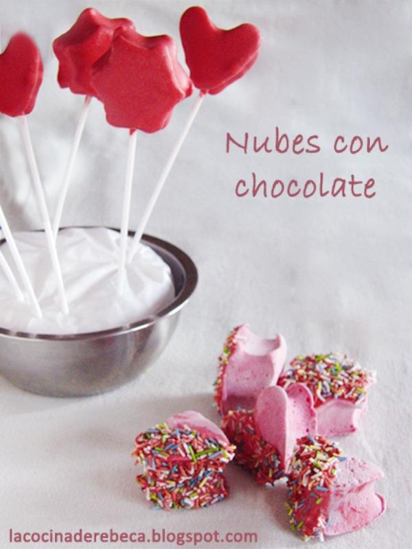 nubes de chocolate - que rico mami