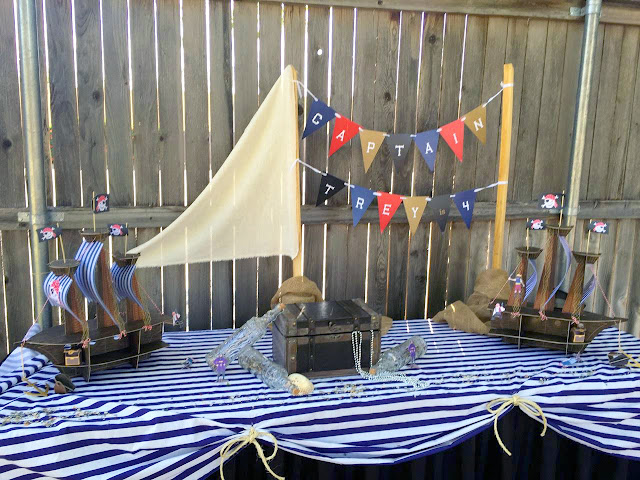 Pirate Ship Birthday Decor