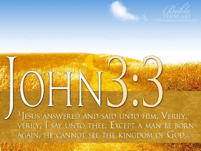 John 3:3 Bible Verse