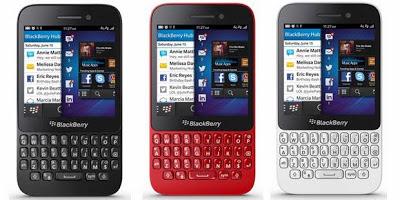 Spesifikasi dan Harga Blackberry Q5 Lengkap