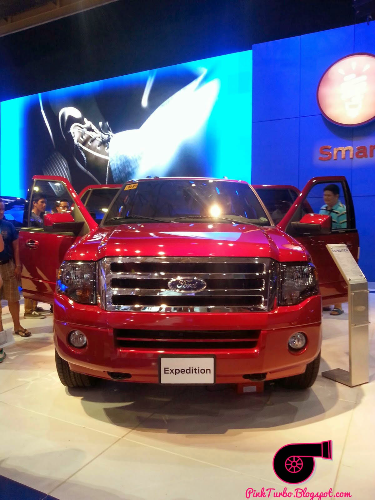 red ford expedition