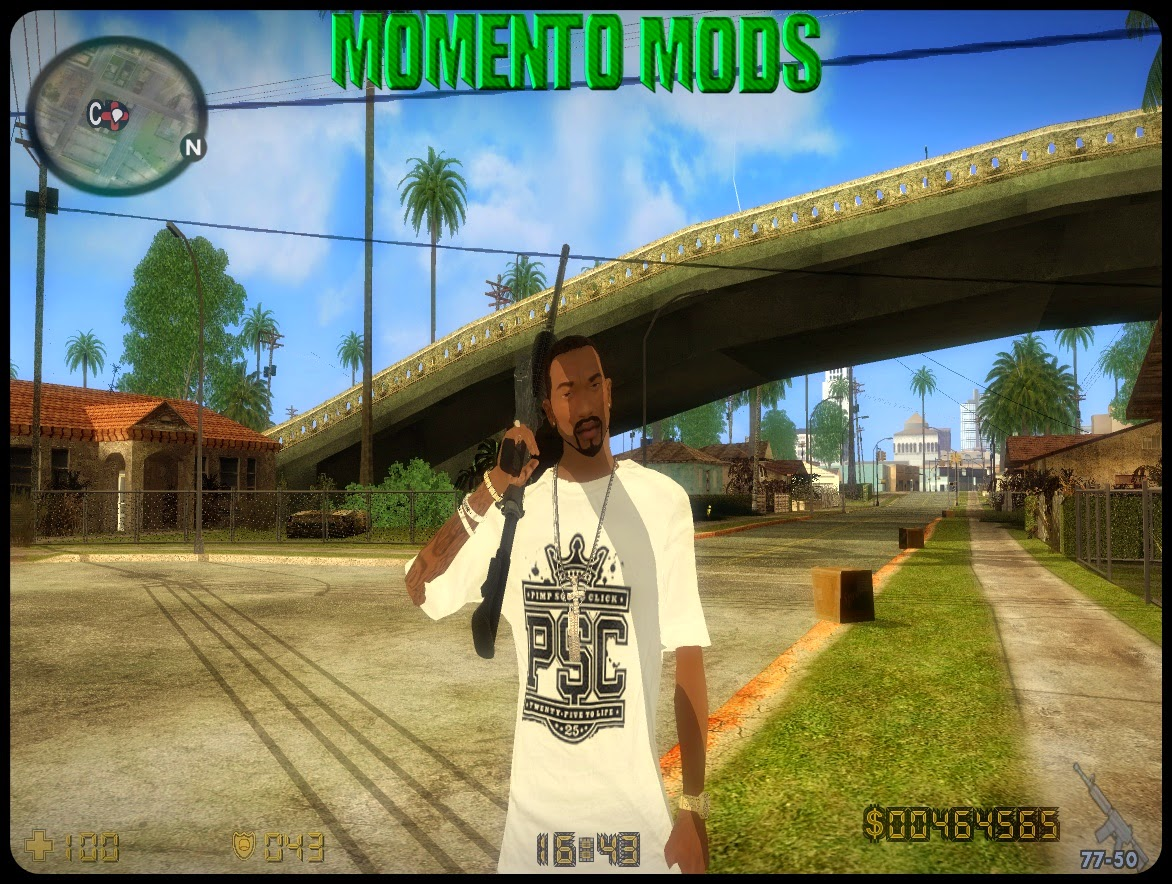 GTA SA - Mod Hud Do Counter Strike CS 1.6