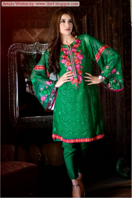 Maria.B Mgirl Eid Dress Pictures with Prices