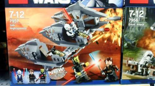 Australian Star Wars LEGO 7957 Sith Nightspeeder Review