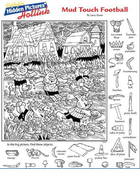 Hidden Picture & Coloring Page: Witch's Brew | Halloween ...