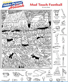 Playful image within hidden pictures printable worksheets