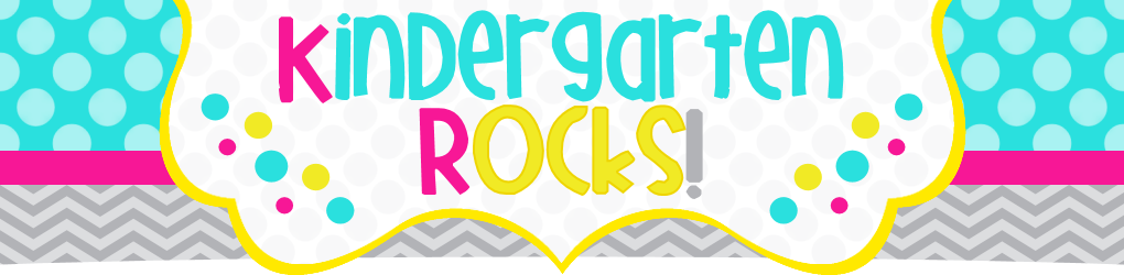 Kindergarten Rocks Sign