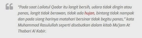 Doa dan Tanda-Tanda Malam Lailatul Qadar