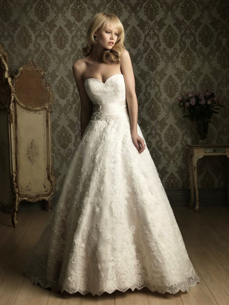 Tea Length White Ivory Lace Wedding Dresses Photos HD Concepts Ideas