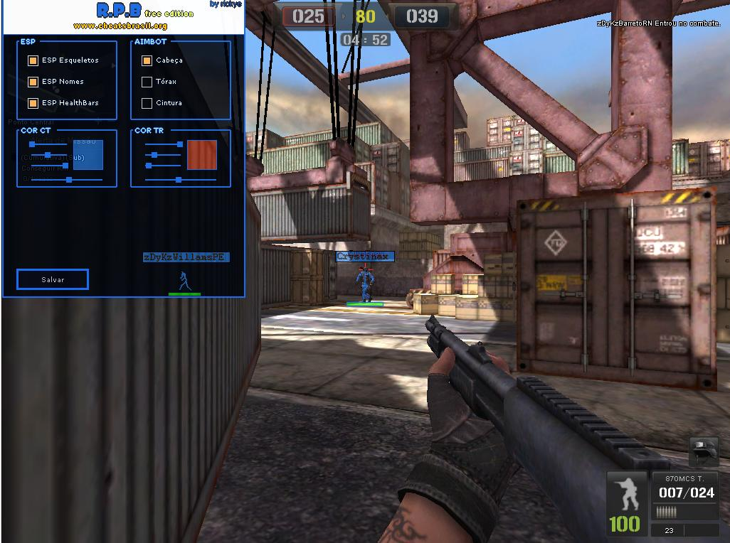 Point Blank Hile Esp Wallhack Aimbot Sniper and injektr 20.05.2013 indir