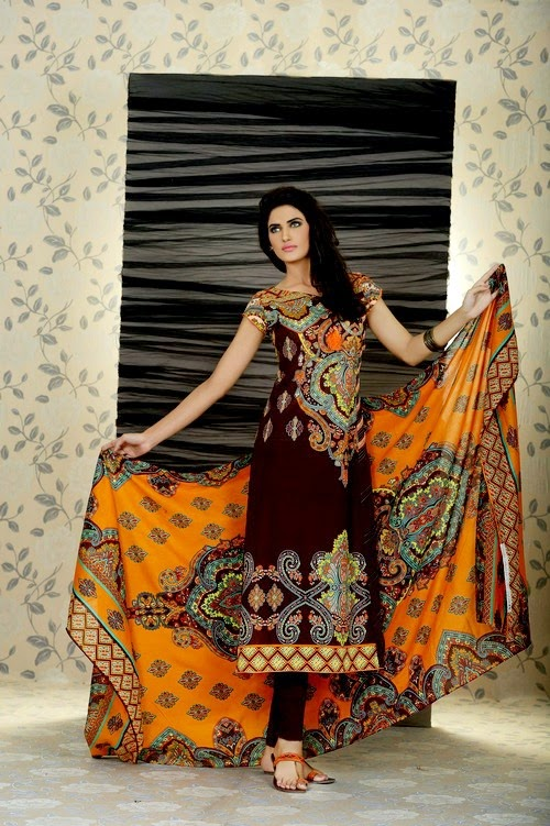 Firdous Summer Lawn Collection 2014 Volume-03