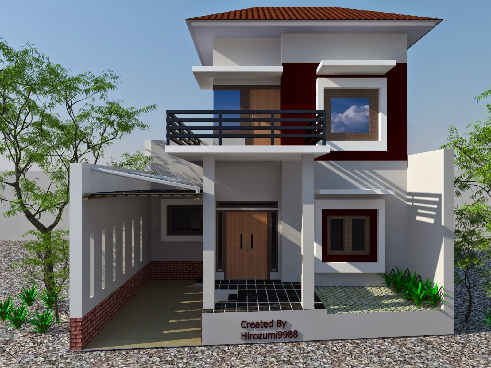 Home Art Design Minimalist House Exterior Design Models