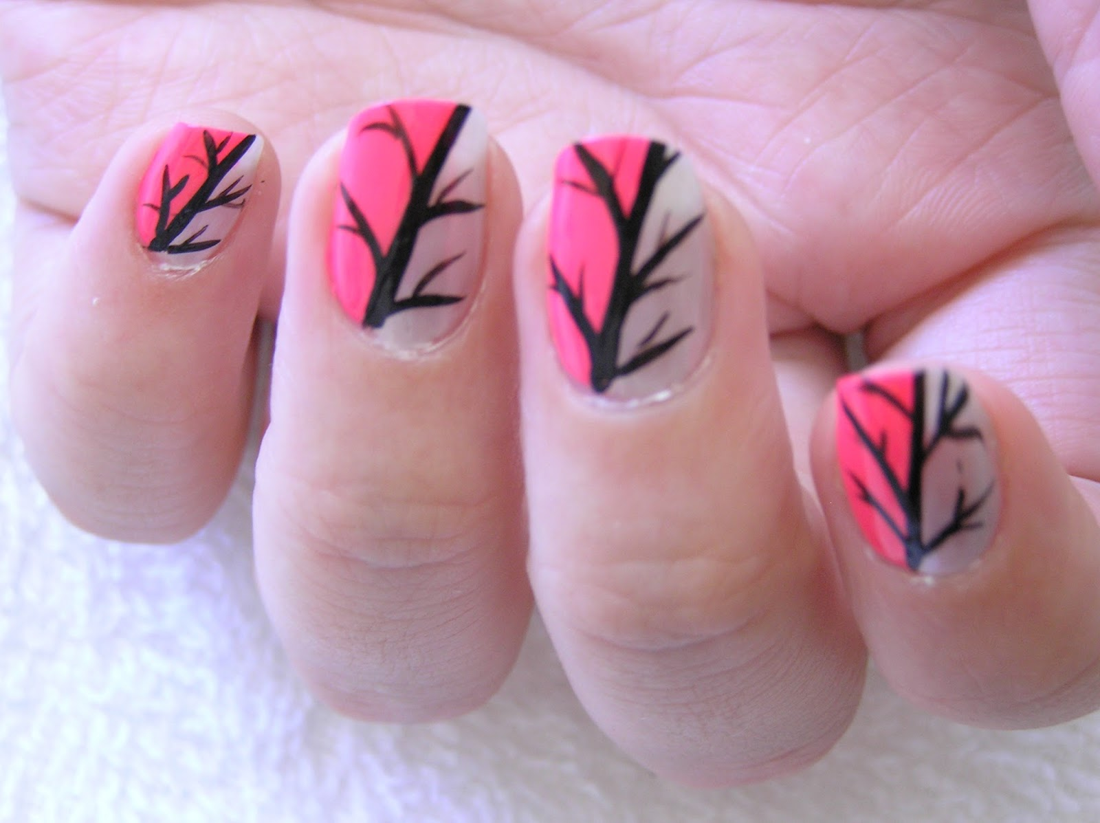 mind blowing nail art designs with hot pink fashionate trends