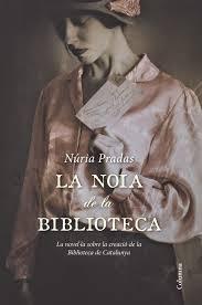 La noia de la biblioteca, de Núria Pradas
