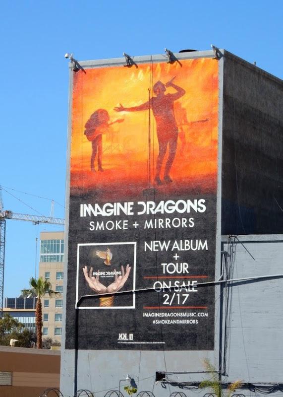 Imagine Dragons Smoke Mirrors album billboard