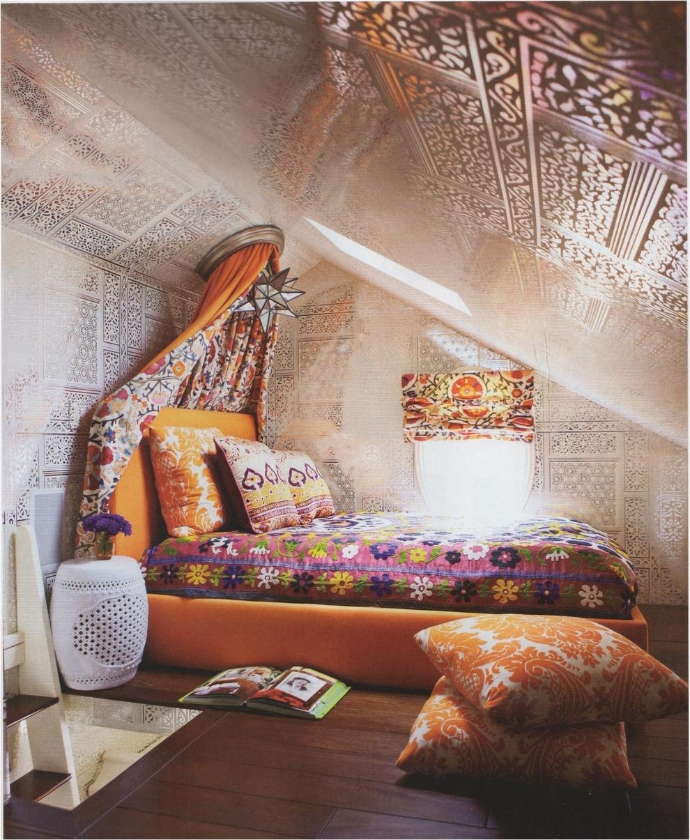 Small bohemian apartment: small bedroom ideas bohemian decorating ...