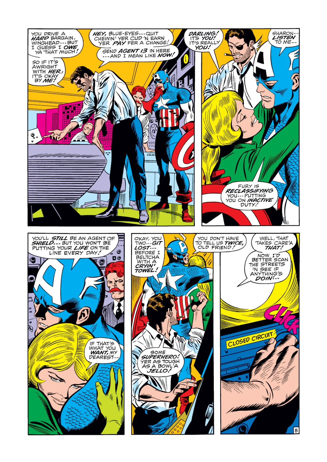 Captain America (1968) Issue #124 #38 - English 9
