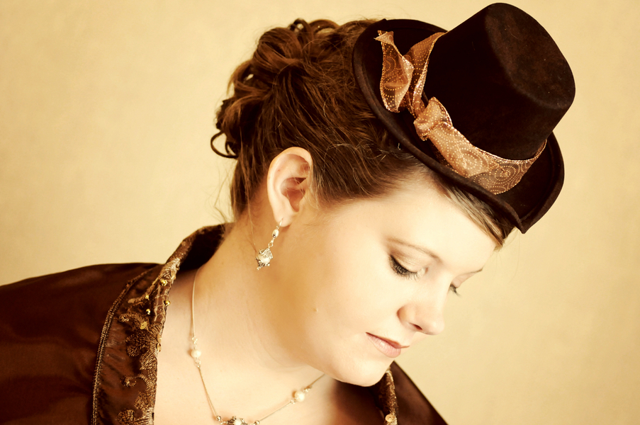 steampunk bridesmaid