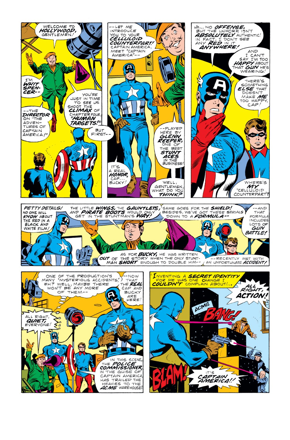 Captain America (1968) Issue #219 #133 - English 7