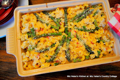 Chicken Asparagus Pasta Bake