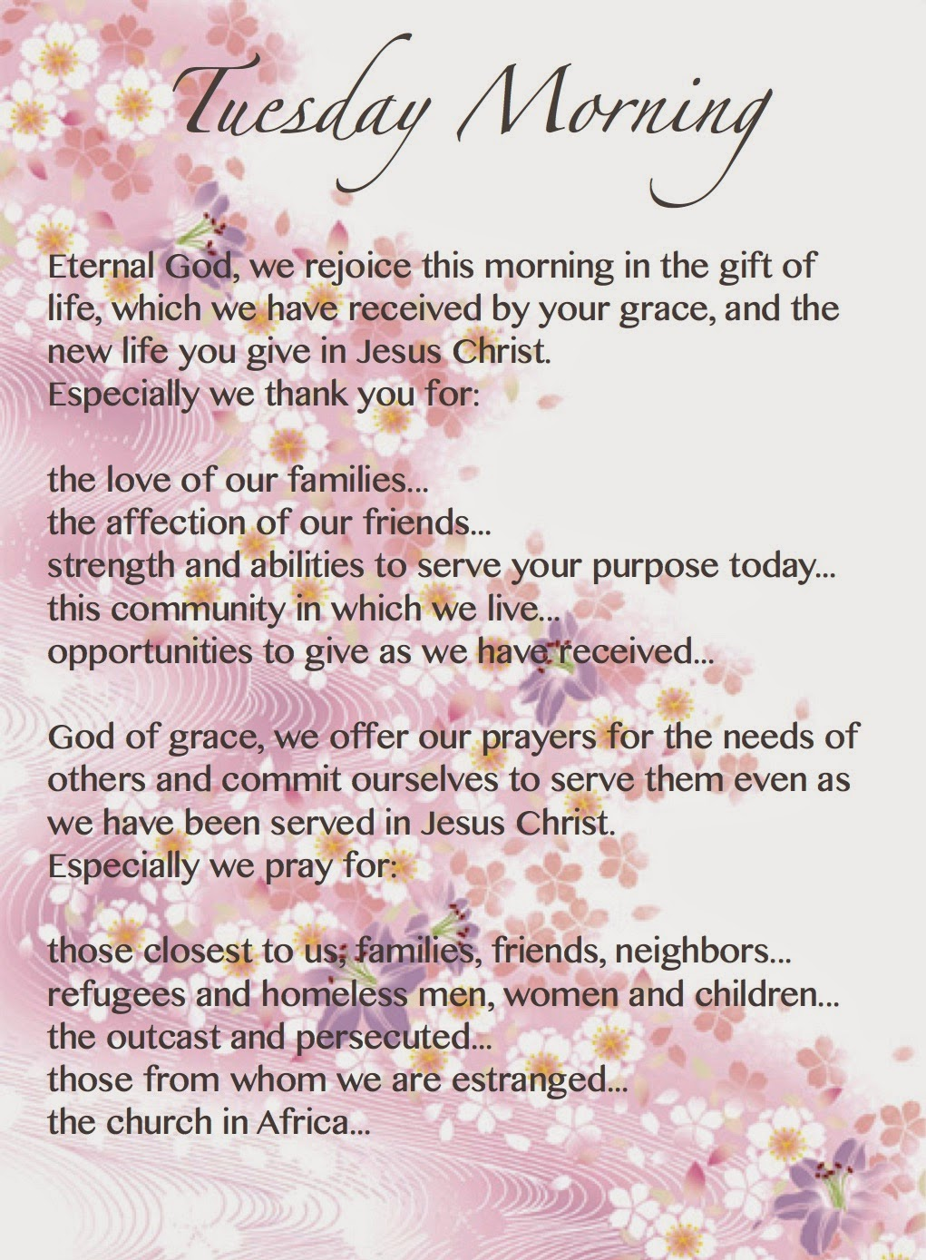 prayer of thanksgiving for rain