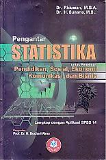 toko buku rahma: buku PENGANTAR STATISTIKA, pengarang  riduwan, penerbit alfabeta