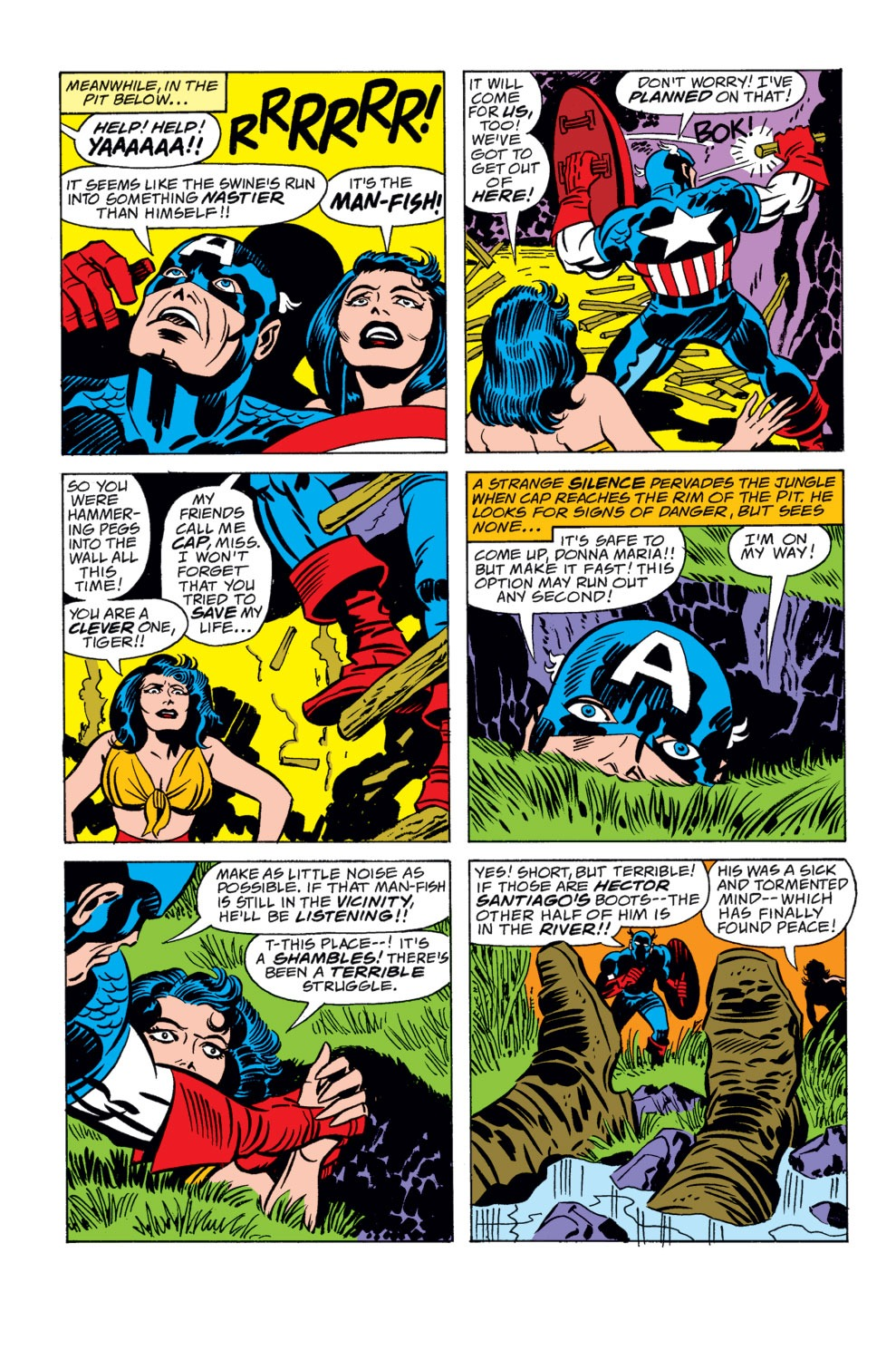 Captain America (1968) Issue #208 #122 - English 14