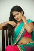 Anusha half saree photos gallery-thumbnail-8