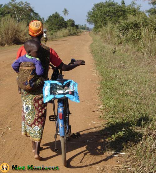 Bicicleta de pouca carga