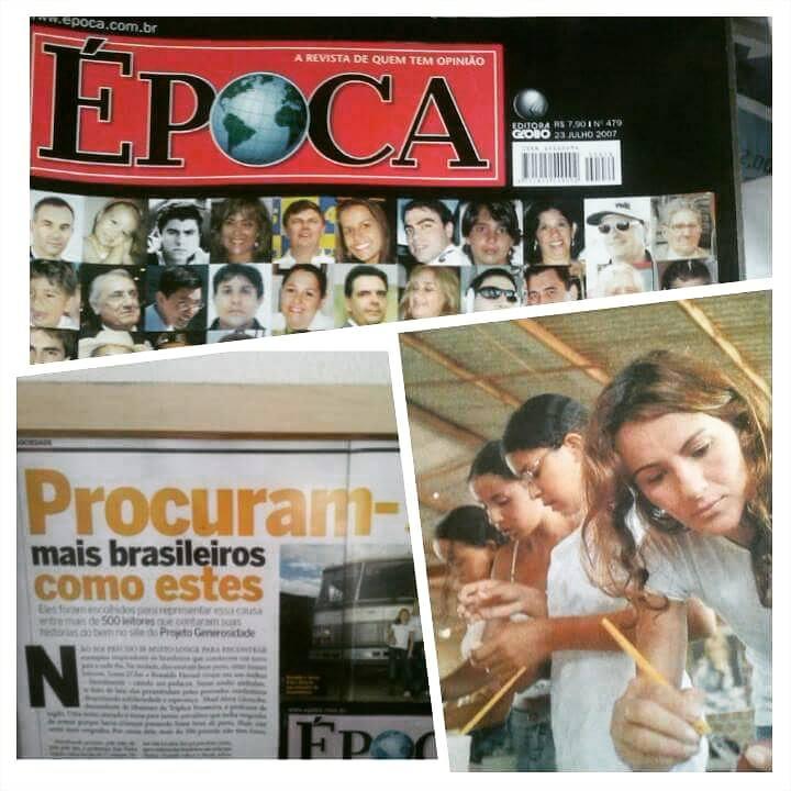 REPORTAGEM DA REVISTA ÉPOCA
