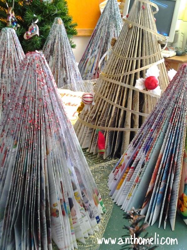 Ιδέες για χριστουγεννιάτικες κατασκευές με τα παιδιά