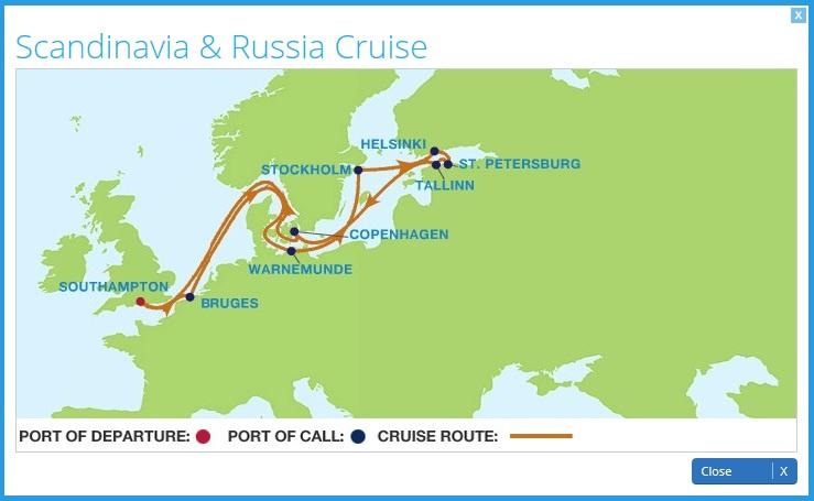 Scandinavia & Russia onboard Celebrity ... - Cruise Dialysis