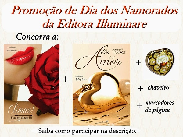 Promoção de Dia dos Namorados da Editora Illuminare