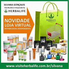 Acesse a Loja Virtual Oficial da Distribuidora Independente Herbalife Silvana Gonçales