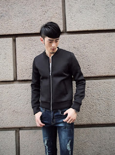 Jaket Cowok Korea