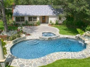 Fotos de piscinas foto de casas modernas con piscina - Fotos de casas con piscinas pequenas ...