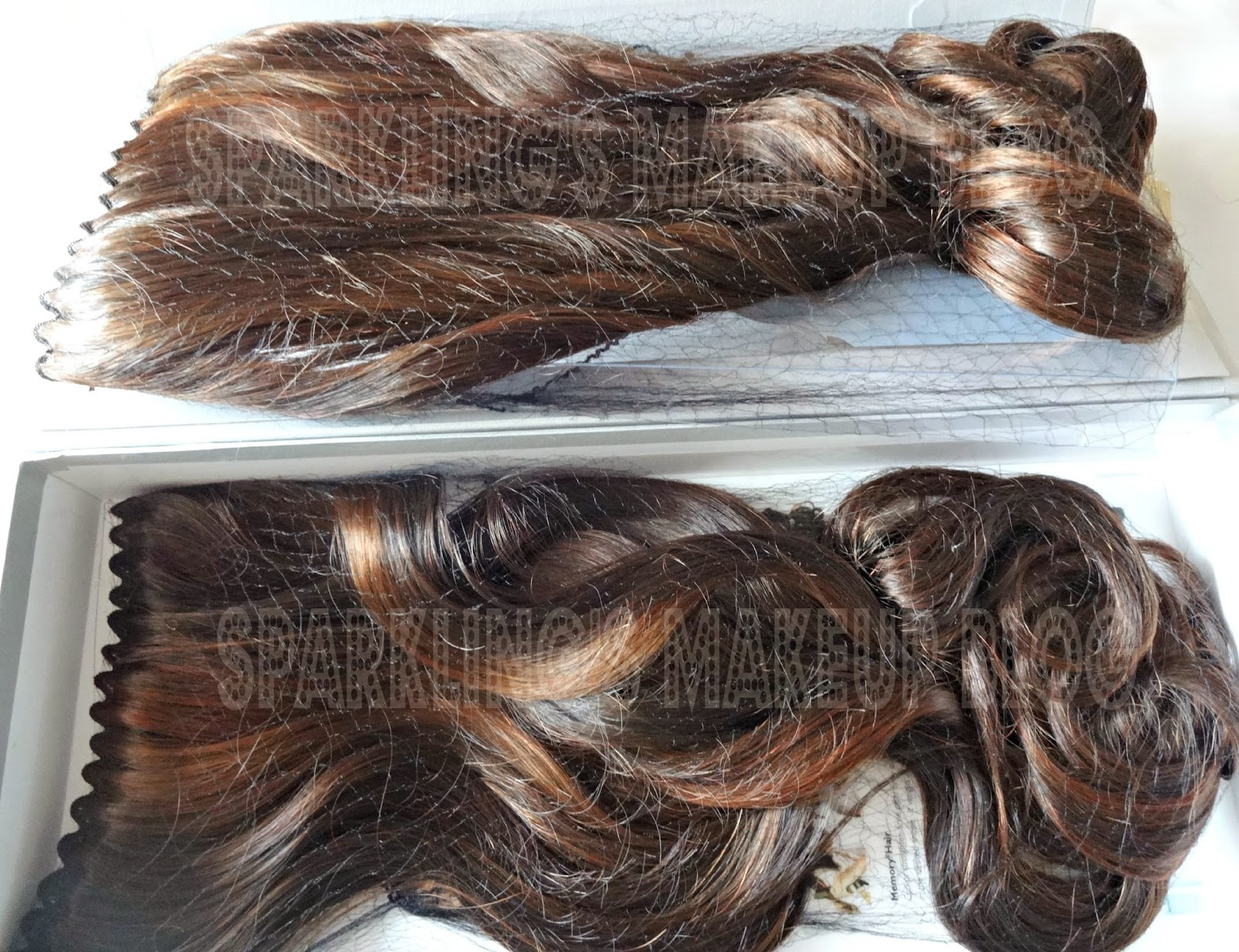 Balmain Hair Complete Extension In Chocolate Brown And Soft Brush