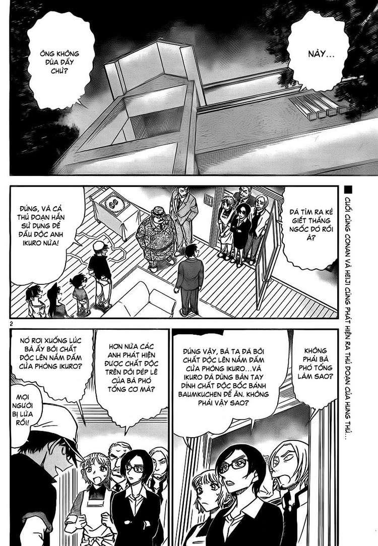Detective Conan - Thám Tử Lừng Danh Conan chap 786 page 3 - IZTruyenTranh.com