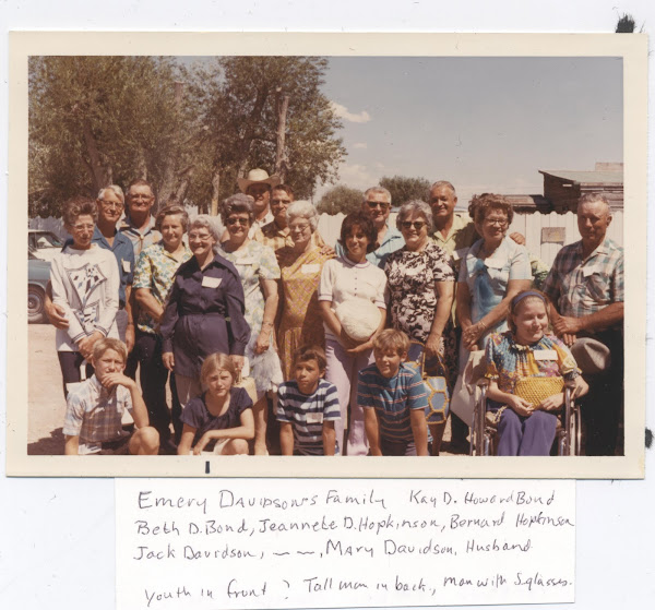 H C Davidson , Hans T.Davidson; Emery Davidson  Descendants