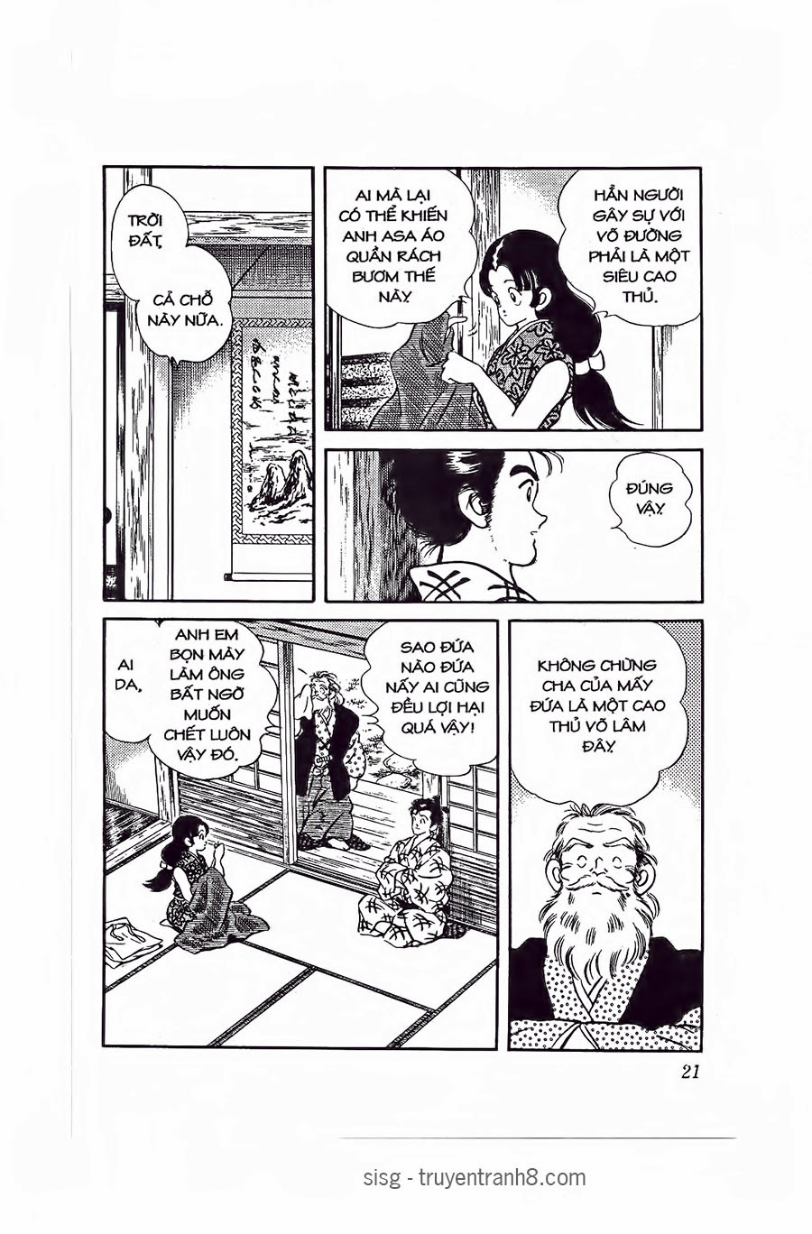 Nijiiro Togarashi - Ớt Bảy Màu chap 80 - Trang 18