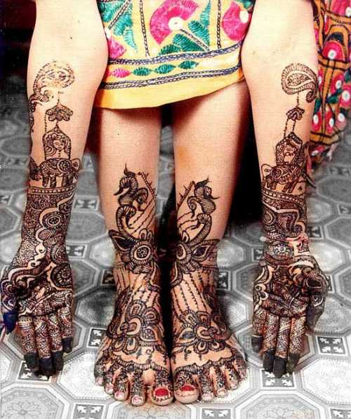 Mehndi Designs For Hands Amp Legs : Mehndi designs for hands indian bridal legs
