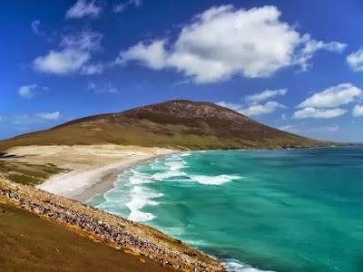 De turismo en las Islas Malvinas