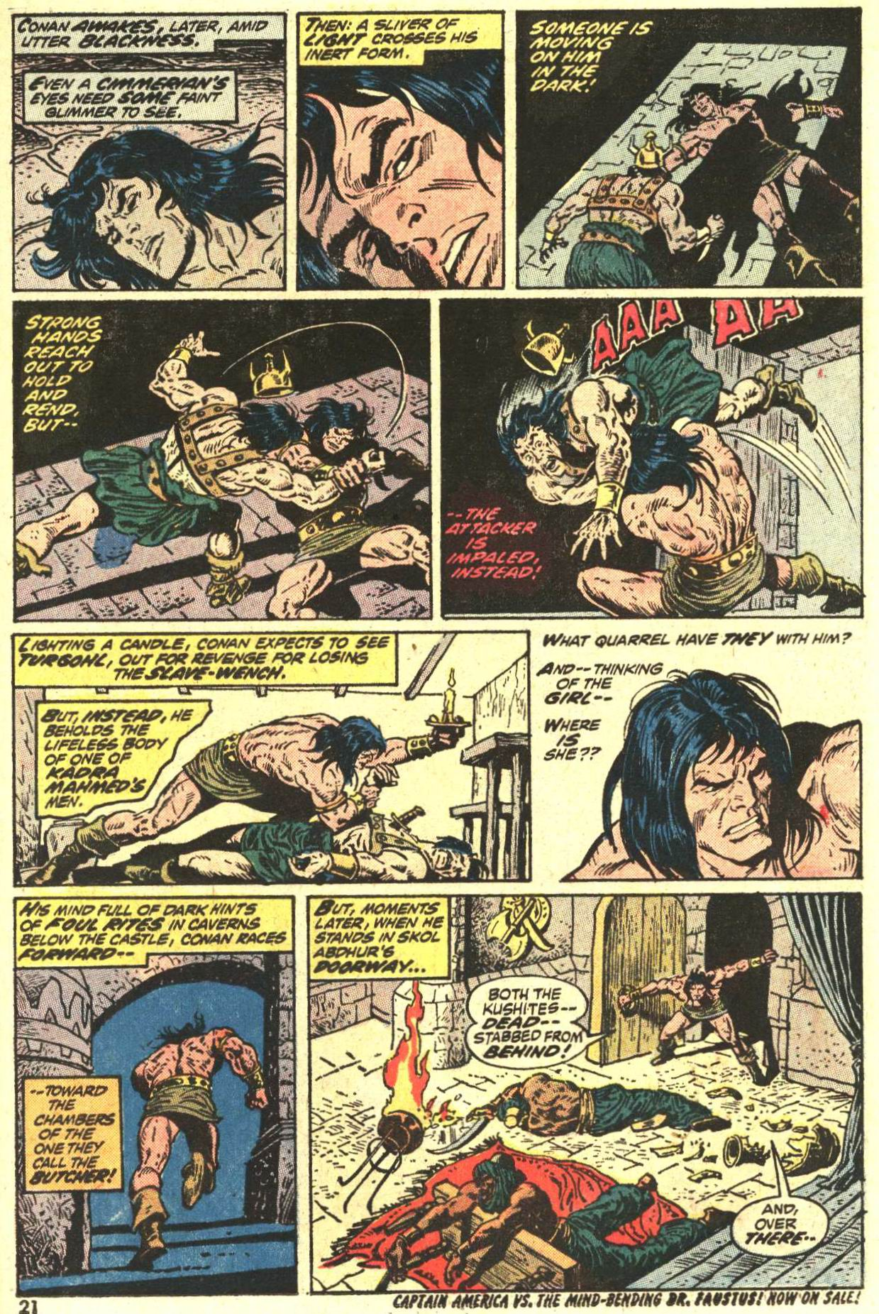 Conan the Barbarian (1970) Issue #27 #39 - English 16