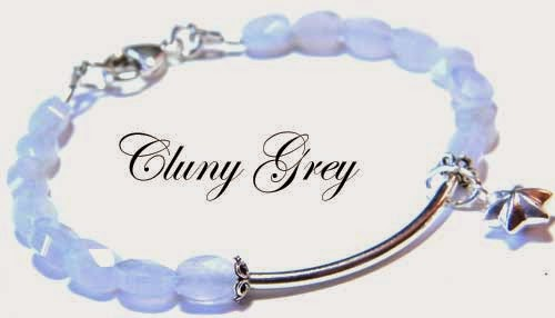 chalcedony bracelet with sterling silver