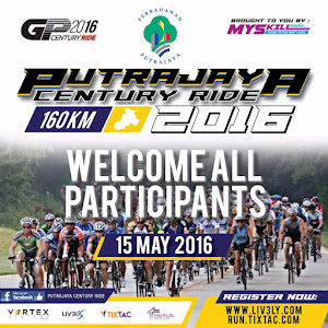 Putrajaya Century Ride 2016 - 4 September 2016
