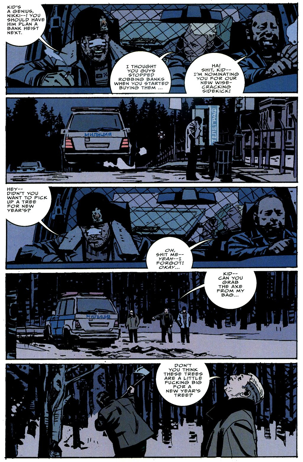Read online The Winter Men comic -  Issue #4 - 21