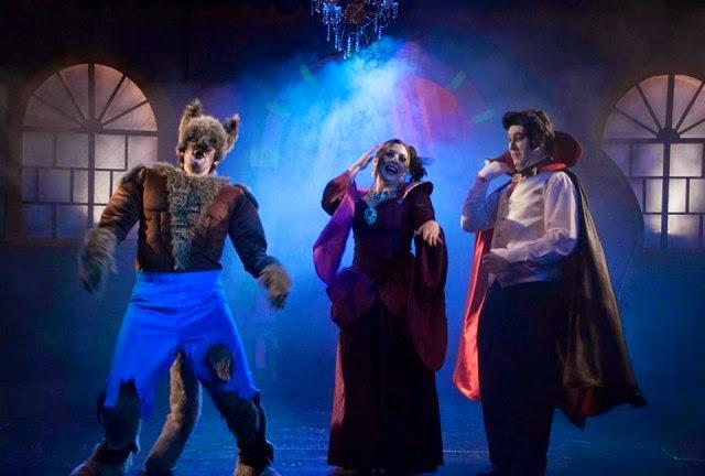 A Casinha de Terror - Teatro Lala Schneider - divulgação