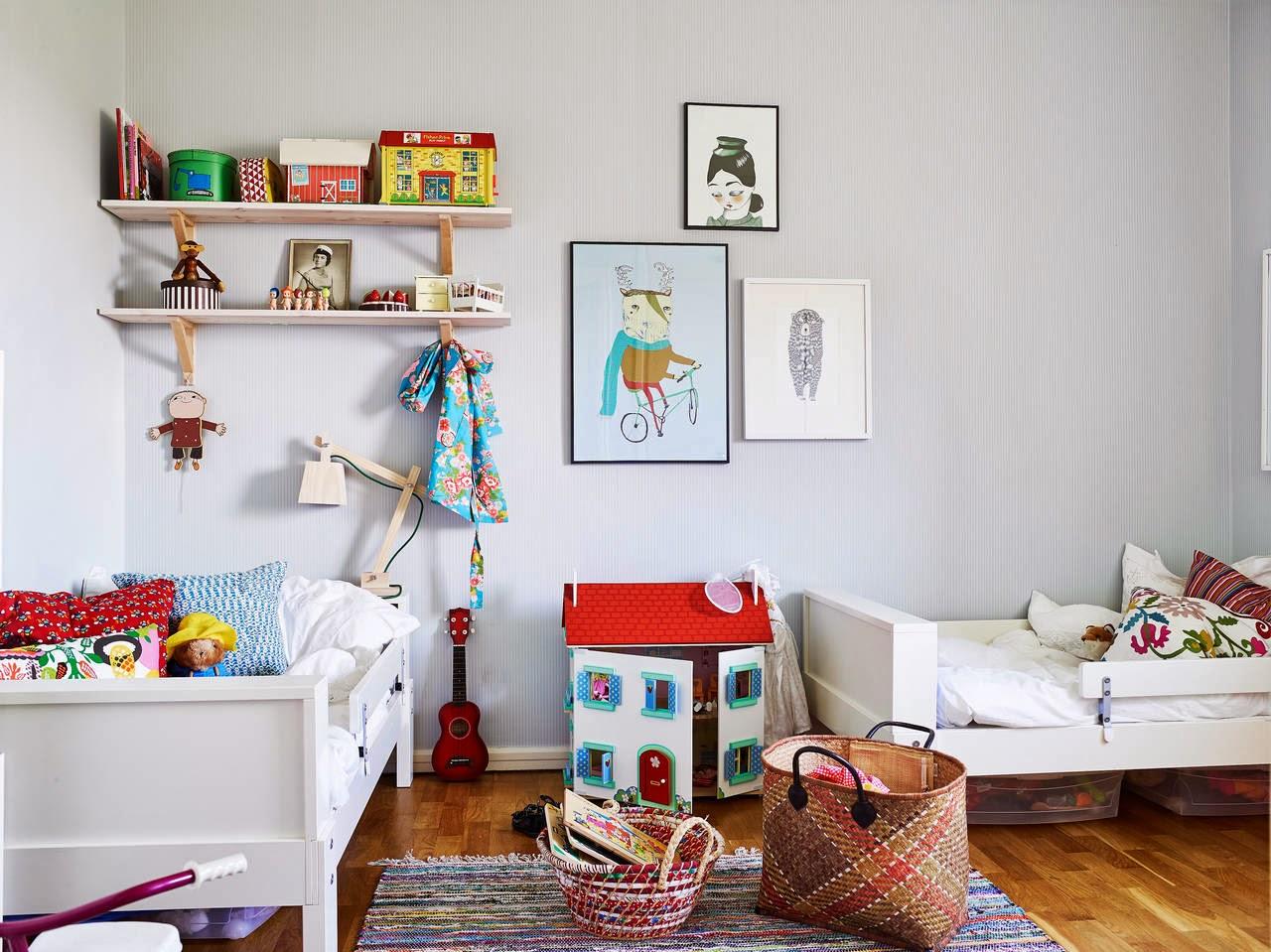 Inspiraci n deco casas con color y de estilo n rdico for Maison du monde camerette per bambini