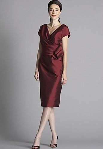 Tea-Length Mother of the Bride Dress