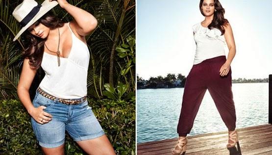 H&M moda tallas grandes verano 2014